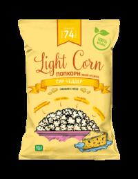 Попкорн зі смаком сиру ЧеддерПопкорн зі смаком сиру Чеддер - Lightcorn